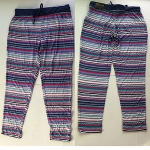 Natural Reflections Tribal Stripe Pajama Pants